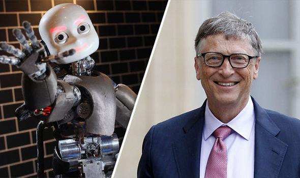 Bill Geyts robot vergisindən söz açdı