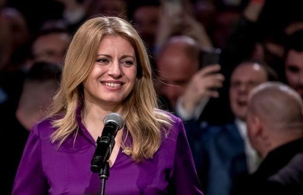 Slovakiyanın lideri ilk dəfə qadın olacaq