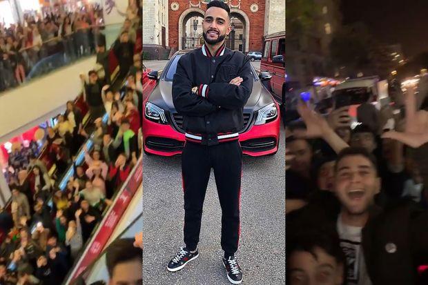 Azərbaycanlı bloqer Bakıda izdiham yaratdı