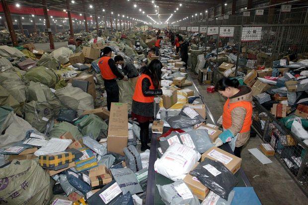 Çində 50 milyard ədəd sürətli poçt-kuryer daşınması reallaşıb