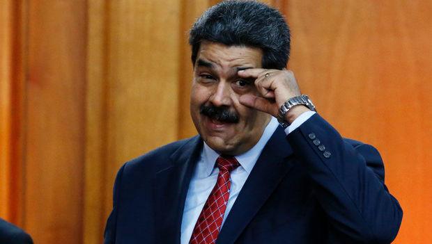 Maduro Trampı oğurluqda ittiham etdi