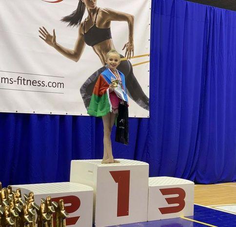 Azərbaycanlı gimnast Polşada qızıl medal qazanıb