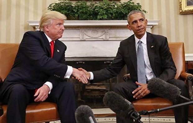 Obama Tramp haqqında film çəkəcək
