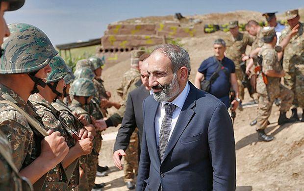 Paşinyan oğlunu Qarabağa siyasi girov kimi göndərib