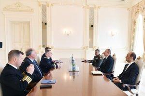 NATO-nun Avropadakı Ali Baş Komandanı İlham Əliyevlə danışıqlarda