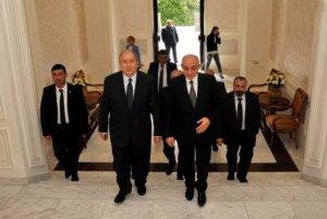 Ermənistanın yeni prezidenti Qarabağdakı separatçıların lideri ilə görüşdü