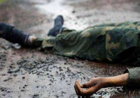 Qarabağda erməni işğalçı minaya düşüb
