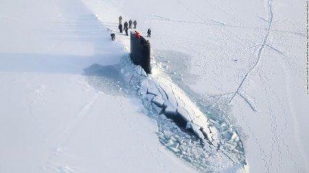 Buzqıran sualtı qayığın görüntüsü yayılıb