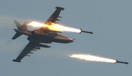 İraq Suriyanı bombalayır