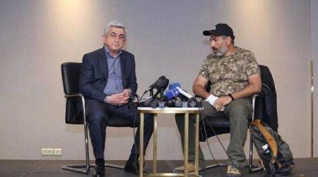 Paşinyan Serj Sarkisyanın istefasını şərh edib