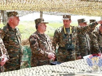 Ermənistan ordusu Azərbaycan ərazilərində təlimlərə başladı