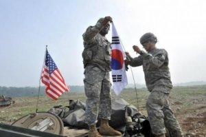 KXDR-in etirazından sonra ABŞ və Cənubi Koreya birgə hərbi təlimləri dayandırdılar