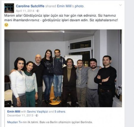 MKİ agenti, məmur Fərhad Məmmədov, Həsənli və MeydanTV