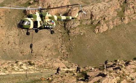 Azərbaycan ordusu Naxçıvanda Qızılqaya yüksəkliyini tutub