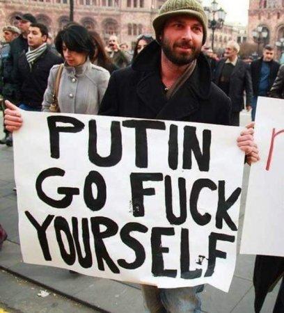 Ermənistanın nazir müavini Putini belə söyürdü