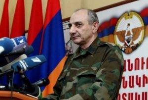 Qarabağ separatçılarının lideri də hakimiyyətdən imtina edir