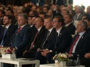 Prezidentlər Türkiyədə Azərbaycan borusunun açılış mərasimində