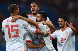DÇ-2018: İspaniya millisi İrana qalib gəldi