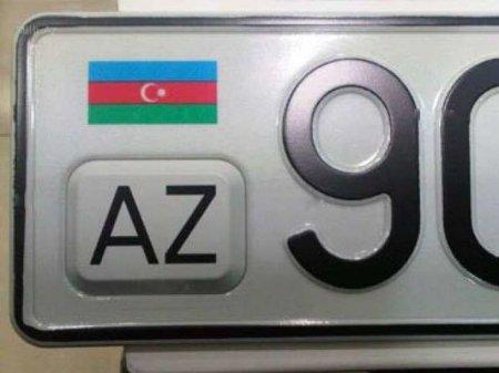 """Azərbaycanda """"gözəgəlimli"""" avtomobil nömrələrinin rüsumu 3000 manata qaldırıla bilər"""