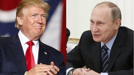 Putin Trampı təriflədi