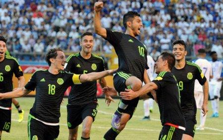 Meksika millisi dünya çempionunu pərişan etdi