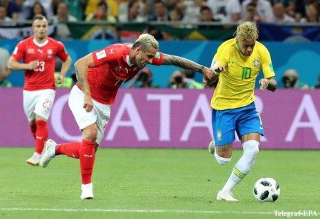 Braziliya millisi İsveçrəyə qalib gələ bilmədi
