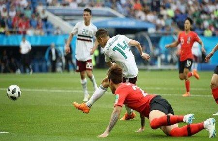 Meksika 1/8 finalda, Сənubi Koreya qrupda qaldı