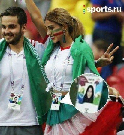 İranlı qadın çadrasını atıb, göbəyini açdı