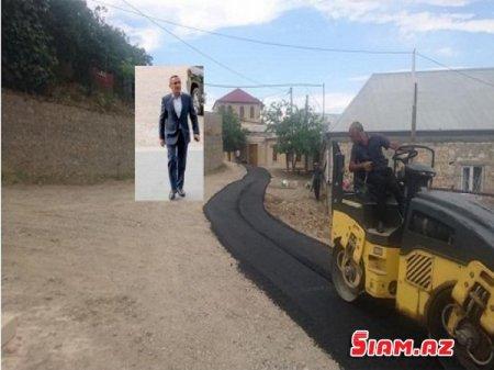 Şəmkirin Icra başçısı küçələrə