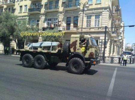 Türkiyənin SOM qanadlı raketləri Azərbaycan ordusunda