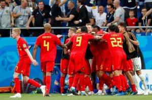 DÇ-2018: Belçika ¼ finala vəsiqəni əlavə vaxtın son dəqiqəsində qazandı