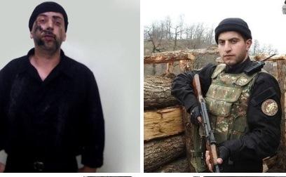 Qazaxda tutulan erməni xüsusi təyinatlısının fotoları