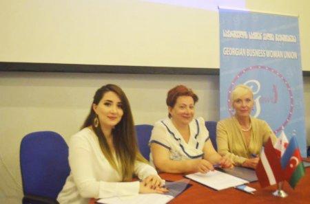 Azərbaycan, Latviya və Gürcüstanın qadın sahibkarları əməkdaşlığa başladı