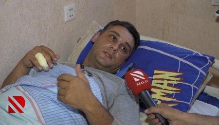 Gəncədəki terror aktında yaralanan polis danışdı