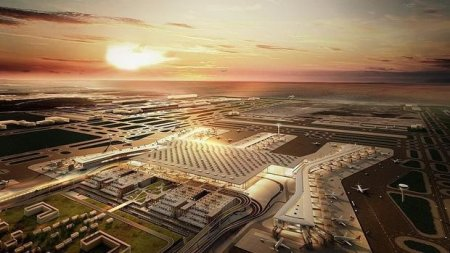 İstanbulun yeni hava limanından ilk reys Bakıya həyata keçiriləcək