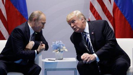 Tramp və Putin arasında görüş başa çatıb