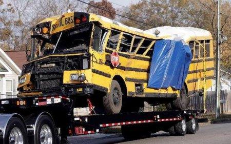 ABŞ-da məktəb avtobusu qəzaya uğradı