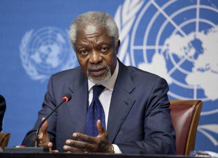 Kofi Annan vəfat etdi