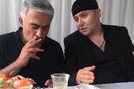 Rövşən Lənkəranskinin qardaşı Şeyx Həmzətlə görüşdü