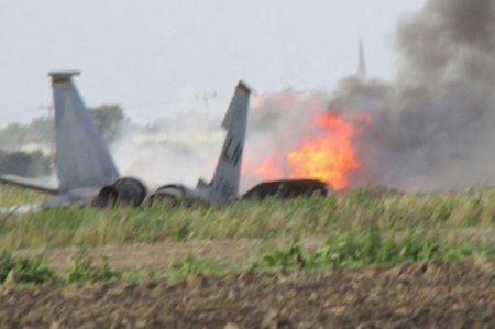 Hindistanda MiQ-27 qırıcısı qəzaya uğradı