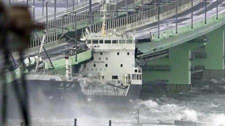 Yaponiyada güclü qasırğa: hava limanı su altında qaldı