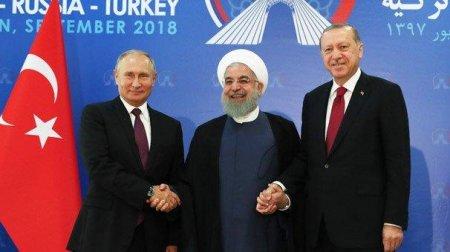 """Tehran sammiti: """"ABŞ-ın Suriyada mövcudluğu qeyri-qanunidir"""""""