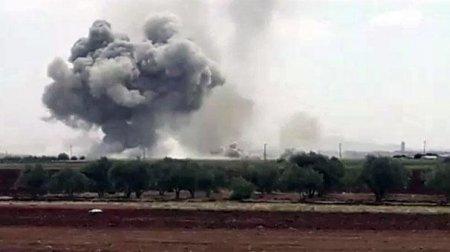 Putindən Ərdoğana ZƏRBƏ: Rus təyyarələri şəhəri bombalayır