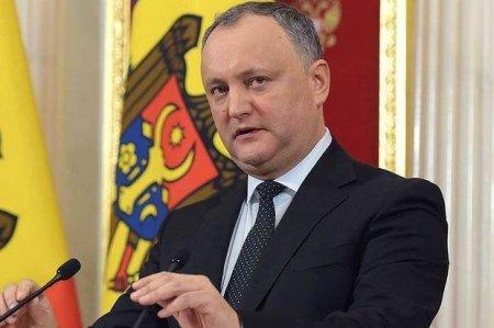 Ölkə şokda: Moldova prezidenti qəzaya düşdü