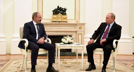 Paşinyan Putinə belə deyib: