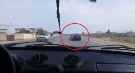 Azərbaycanda sürücü öz ölümünü kameraya çəkdi