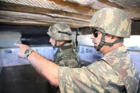 Zakir Həsənov orduya tapşırıqlar verdi