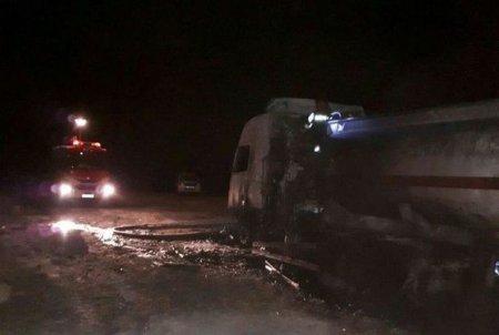 İranda avtobus benzindaşıyan maşınla toqquşdu: onlarla ölü