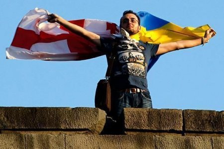 """Ukrayna və Gürcüstan arasında """"vizasız rejim"""" sazişi"""