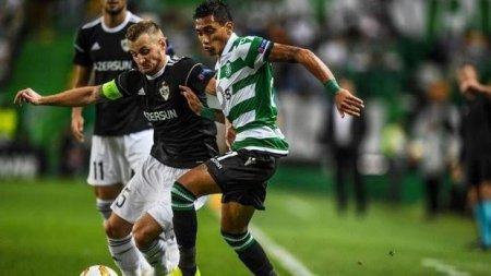 """""""Qarabağ"""" Lissabondan məğlub qayıdır"""